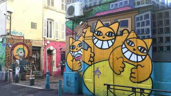 Cours Julien Monsieur chat Marseille