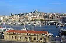 Quartier du vieux port à Marseille